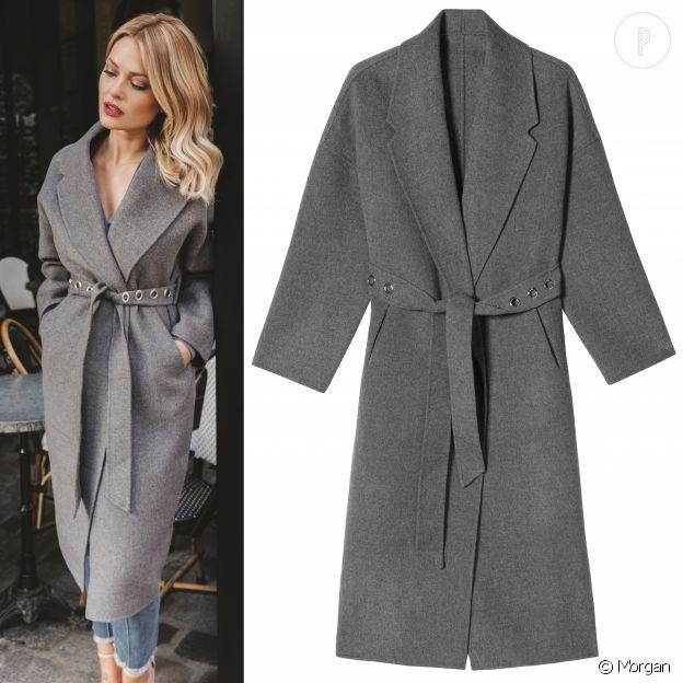 Manteau roxy gris