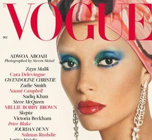 Pourquoi tous les gens de la mode instagrament la Une du British Vogue ?