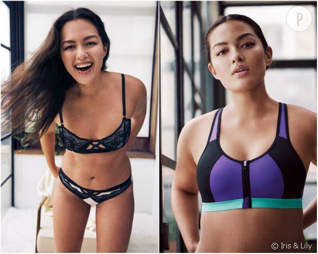 Marque Iris /& Lilly Tanga en Dentelle Soft Lace Femme