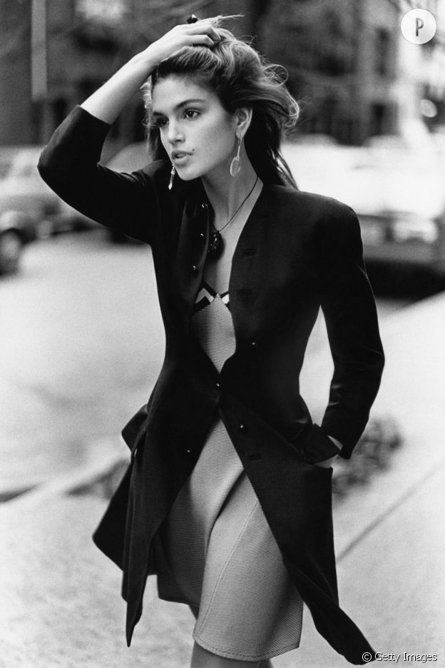 Cindy Crawford en 1988.