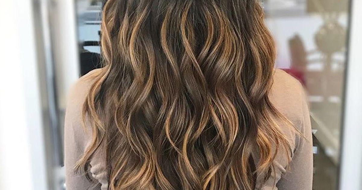 Couleur de cheveux caramel les plus belles inspirations Cheveux couleur caramel adoucir visage