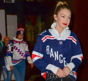 Bella et Gigi Hadid : elles abandonnent leur look sexy pour le hockey