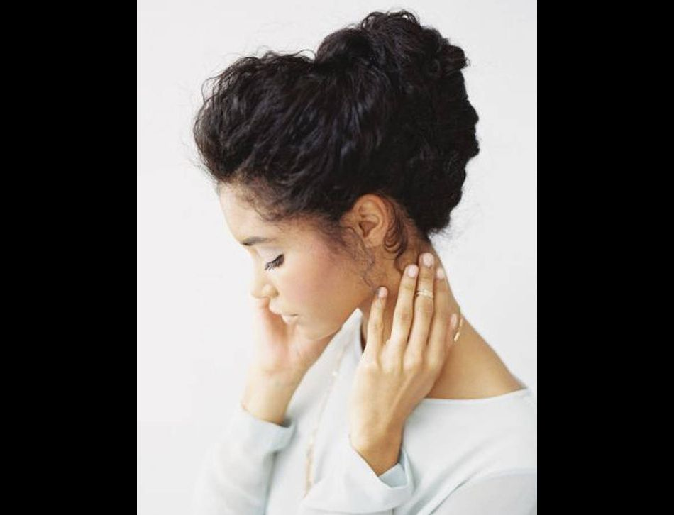 Headband et cheveux crepus