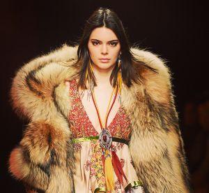 Kendall Jenner vivement critiquée après avoir porté de la vraie fourrure