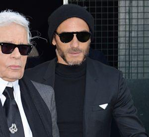 Karl Lagerfeld ose un nouveau look... et on ne s'y attendait pas