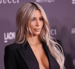 Kim Kardashian dévoile son astuce insolite pour un décolleté parfait