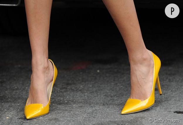 Escarpin jaune : on ose la couleur !