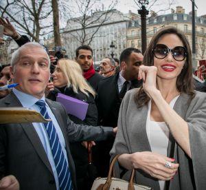 Angelina Jolie : son look parfait (et frenchy) pour sa visite à Brigitte Macron