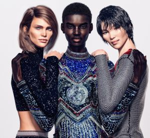 Une Balmain Army virtuelle pour Olivier Rousteing