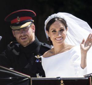 Meghan Markle, l'adorable détail dissimulé sous sa robe de mariée...