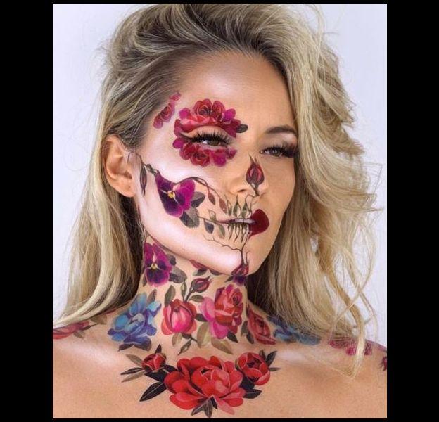 Maquillage Artistique Halloween.Ces Comptes Instagram De Make Up Artists Qui Donnent Envie De Feter Halloween Puretrend