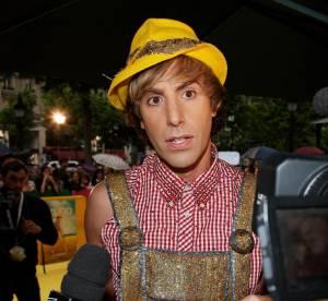 Sacha Baron Cohen prépare sa fashion week