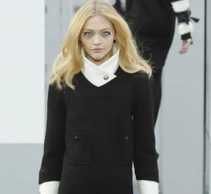 Sasha Pivovarova dessine pour Chanel