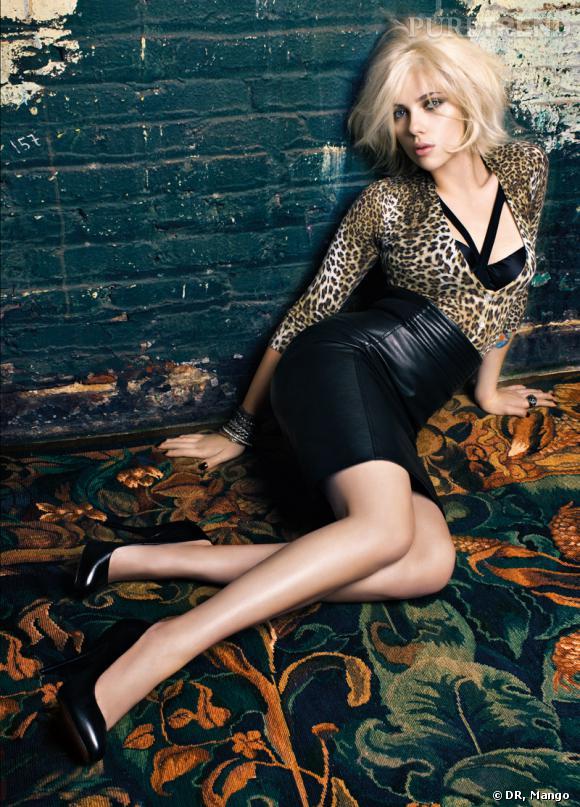 Scarlett Johansson égérie Mango