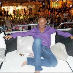 [brand=4294721886]Christian Audigier[/brand] sur son yatch à Saint Tropez.