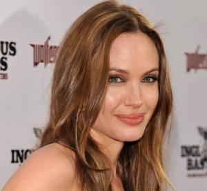 Angelina Jolie, sexy en total look cuir