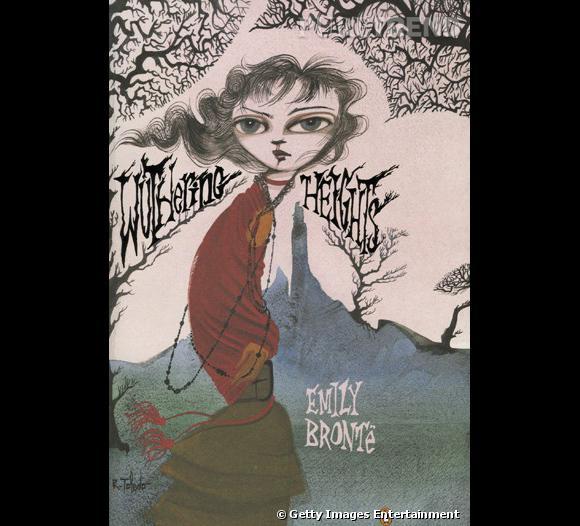 Couverture de  Wuthering Heights  d'Emily Brontë par Ruben Toledo. Visuel sur  [url=http://www.wwd.com/] Women's Wear Daily [/url]