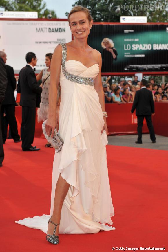 Sandrine Bonnaire à l'ouverture de la 66e Mostra de Venise