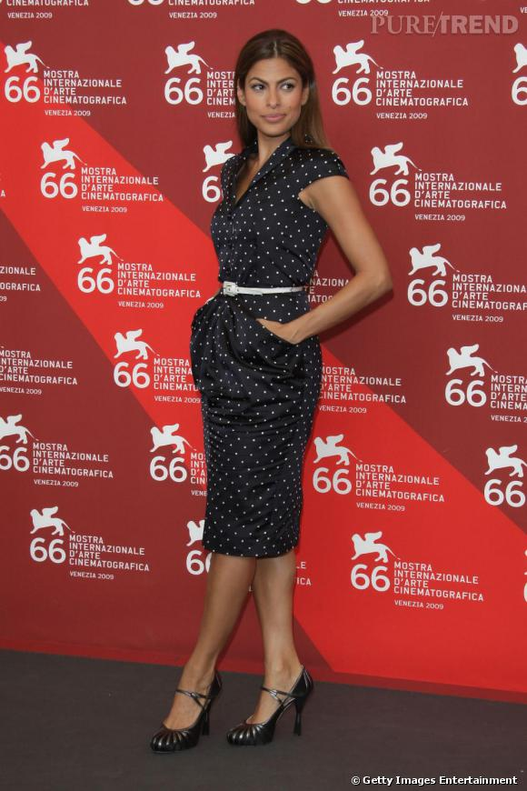 Eva Mendès à la 66e Mostra de Venise
