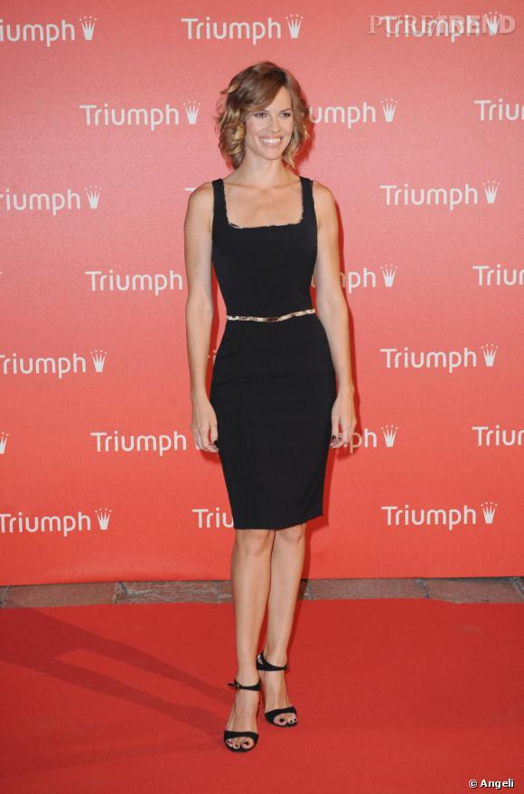 Hilary Swank aux Triumph Inspiration Awards 2009