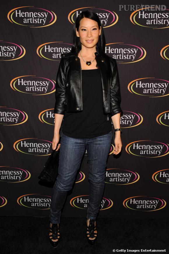 Lucy Liu au Hennessy Artistry 2009 Series à New-York