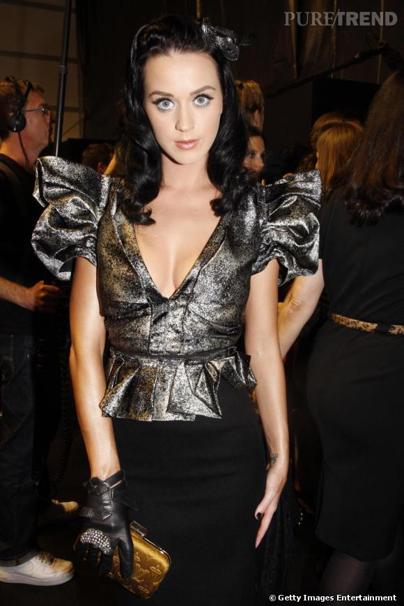 Katy Perry au défilé Louis Vuitton