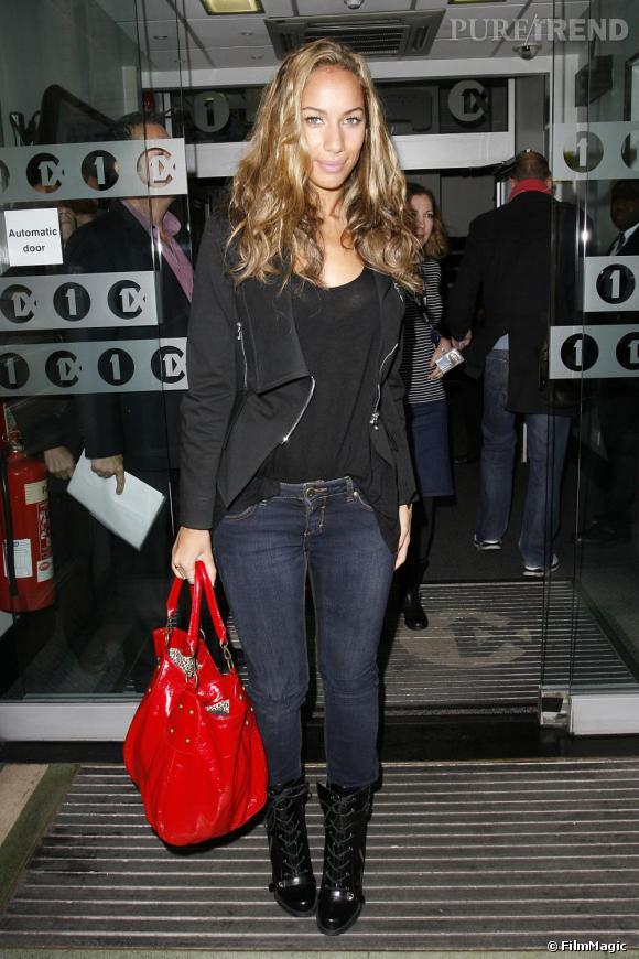 Leona Lewis dans les rues de Londres