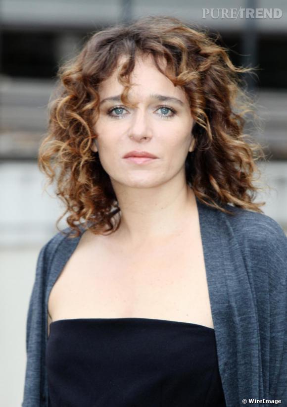Valeria Golino lors de la première de son dernier film à Rome L'uomo Nero.