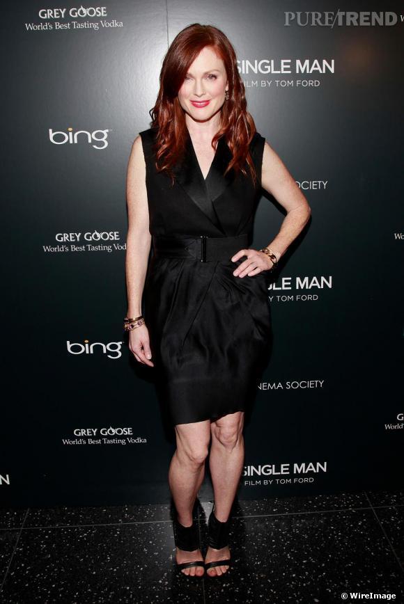 Julianne Moore lors de la projection A Single Man à New-York