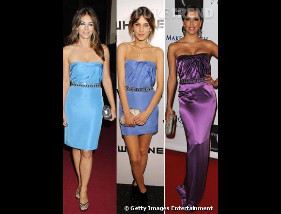 Qui selon vous porte le mieux la robe bustier Versace ?