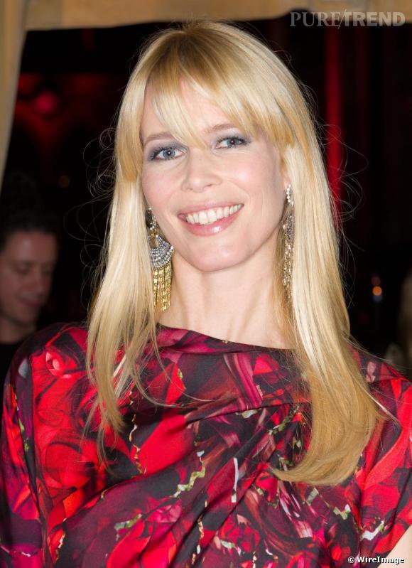 Claudia Schiffer lors des British Fashion Awards 2009 à Londres