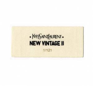 New Vintage II pour Yves Saint Laurent : une collection capsule éthique
