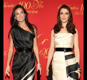 Demi Moore Vs Rachel Weisz : qui porte le mieux la robe Prabal Gurung ?