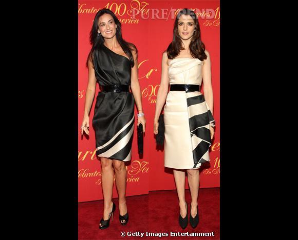 Qui de Demi Moore et Rachel Weisz porte le mieux la robe Prabal Gurung ?