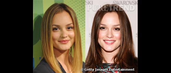 Difficile à croire que le blond est sa couleur naturelle tant le brun lui va à ravir. L'actrice est trop fade et beaucoup plus banale en blonde.