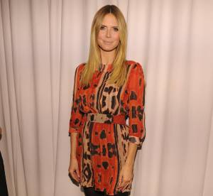 Heidi Klum et son look de jungle queen