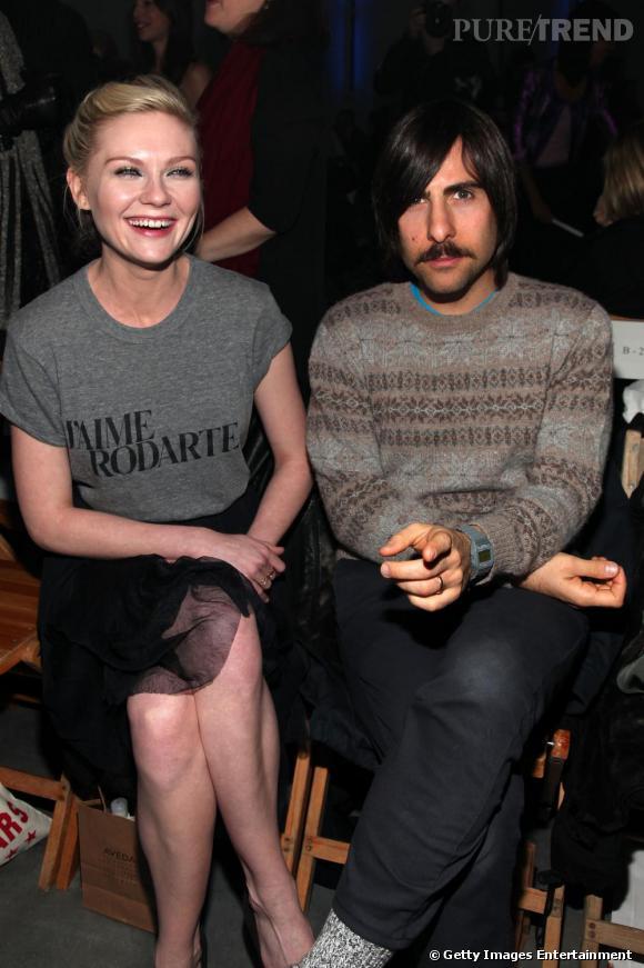 Kirsten Dunst et Jason Schwartzman au défilé Rodarte