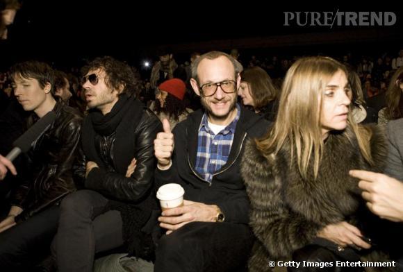 Terry Richardson et Carine Roitfeld au défilé Marc by Marc Jacobs