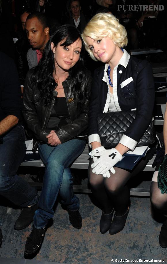 Shannen Doherty et Kelly Osbourne au défilé G-Star Raw