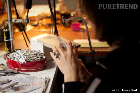 Comme un prototype, la maquette permet de voir les défauts du bijou.