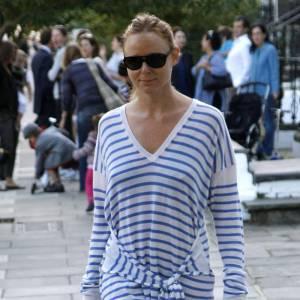 Stella McCartney la porte en robe, c'est plus pratique pour le total look !