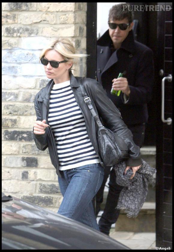 Kate Moss, rock jusqu'au bout des ongles.