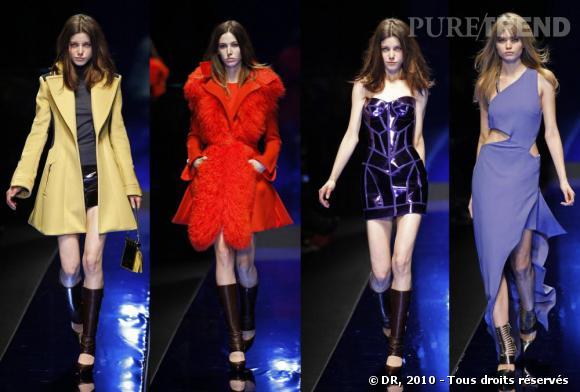 Défilé prêt-à-porter femme Automne hiver 2010-2011 : Versace