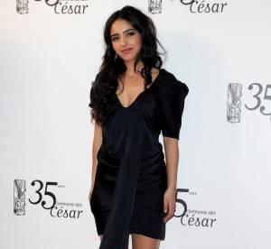 Hafsia Herzi, oeil et robe de velours !
