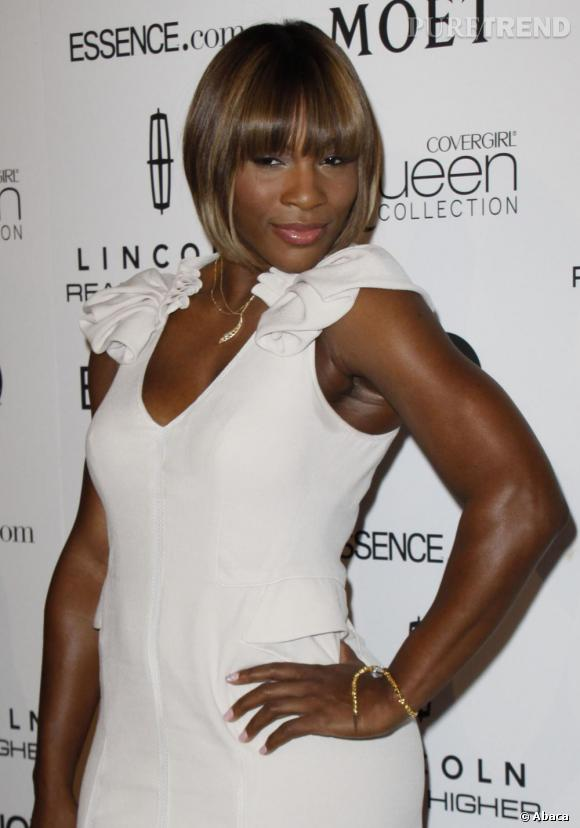 Serena Williams, toujours plus séductrice.
