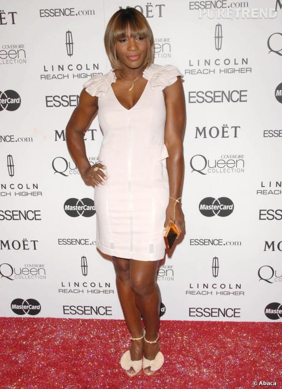 Serena Williams à la soirée Essence Black Women à Beverly Hills