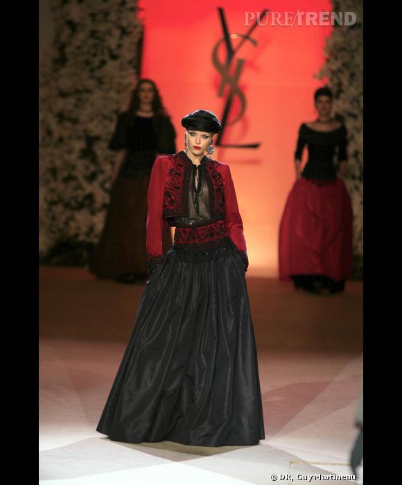 Défilé Haute Couture hommage, 2002 : collections les poupées russes, hiver 1976