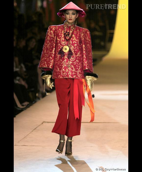 Défilé Haute Couture hommage, 2002