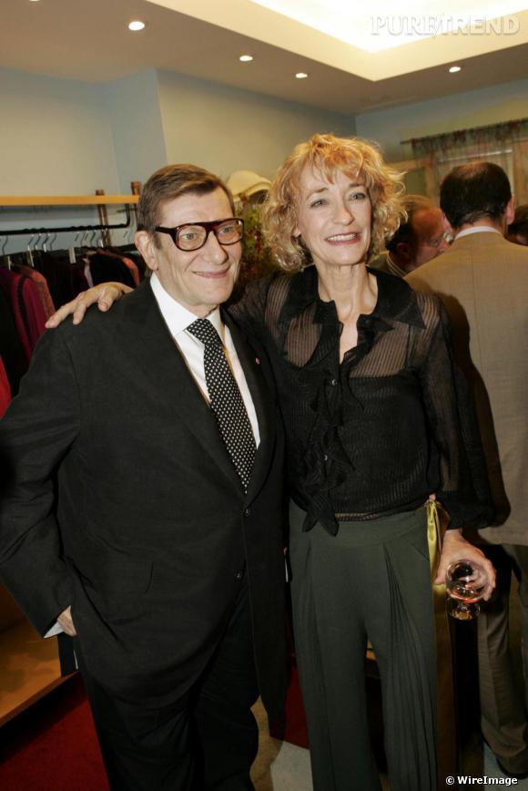 """L comme Loulou de la Falaise       Loulou, de son vrai nom Louise Vava Lucia Henriette de la Falaise, croise le chemin d'Yves Saint Laurent en 1968 et deviendra sa muse pendant plus de 30 ans. Dès 1972, elle intègre la maison de couture et développe les lignes bijoux et maille. Yves Saint Laurent a dit à son sujet :  """"Le vrai talent de Loulou de la Falaise, en dehors de ses qualités professionnelles incontestables, c'est le charme. Particulier. Émouvant. L'étrange pouvoir d'un don de légèreté, mêlé à une acuité irréprochable de son regard sur la mode. Intuitif, inné, particulier. Sa présence à mes côtés est un rêve."""""""