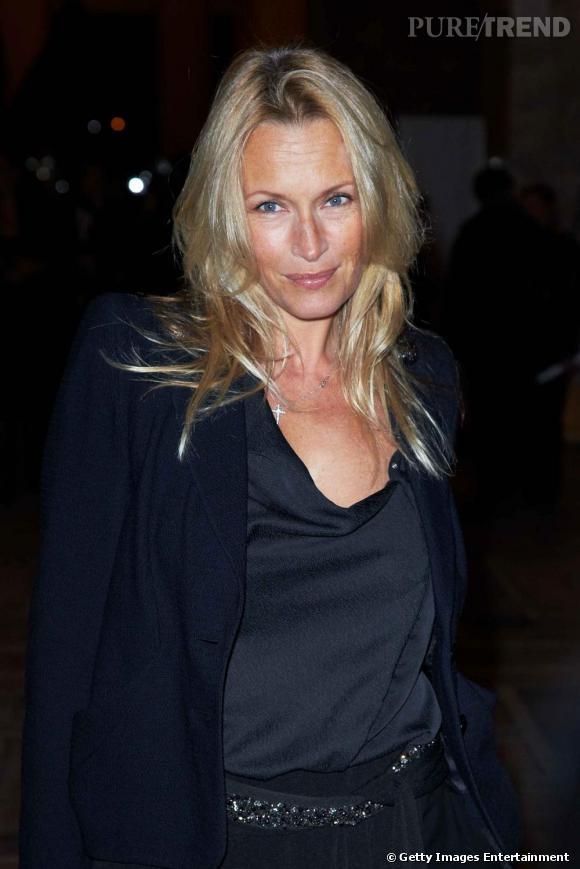 Estelle Lefébure au Petit Palais à l'occasion du lancement de l'exposition Yves Saint Laurent